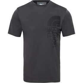 The North Face Ondras S/S Tee Herre asphalt grey/tnf black